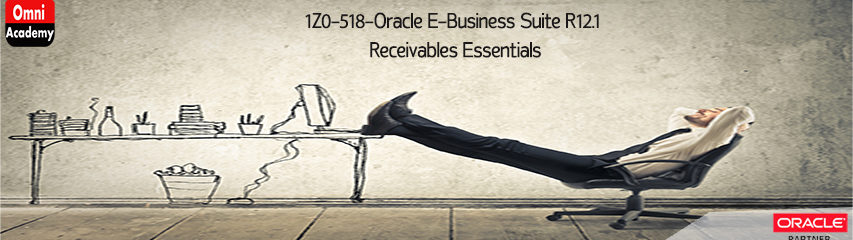 1Z0-518-Oracle-Receivables-Essentials