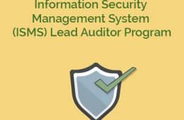 ISO 27001 ISMS Course