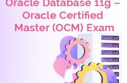 OCM 11g Exam