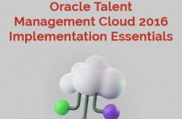 Talent Management 2016 Course