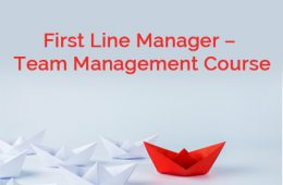 First Line Manager Course