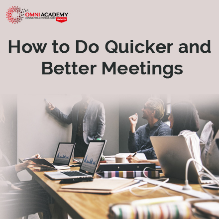 Quicker and Better Meetings Course