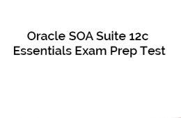 Oracle 12c Exam