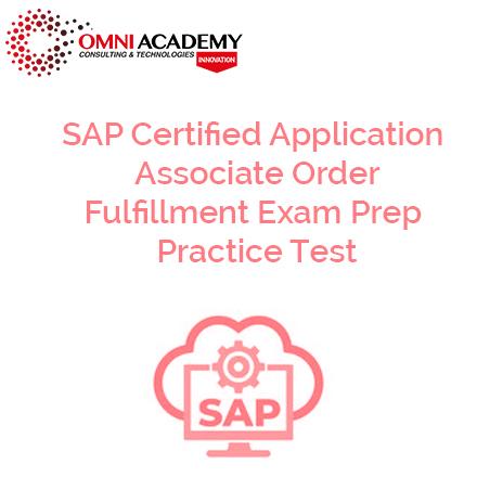 SAP Order Fullfillment Exam